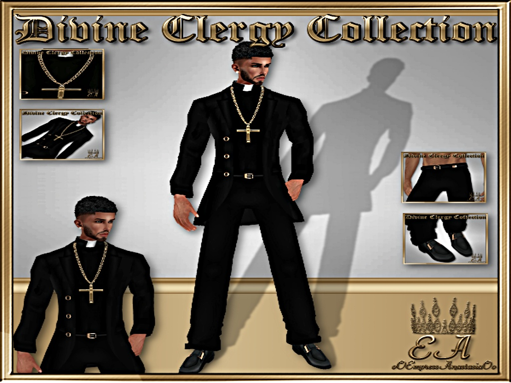 Divine Clergy Man No-Resell Rights!!!