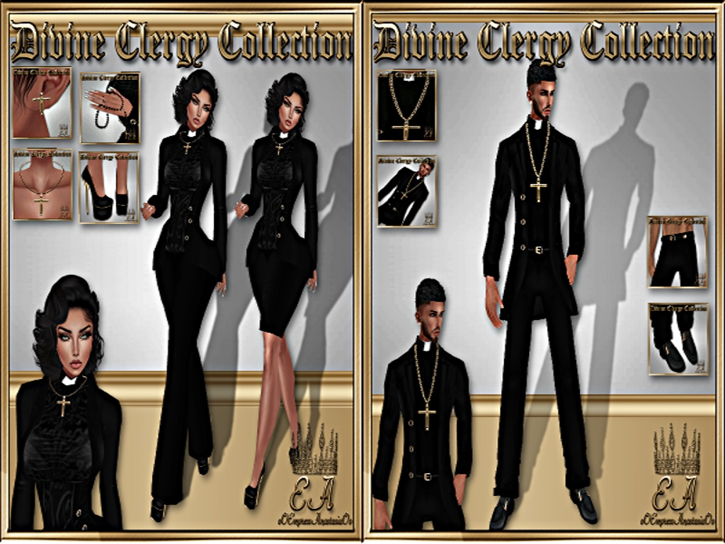 Divine Clergy Male & Female No Re-Sell Rights!!!