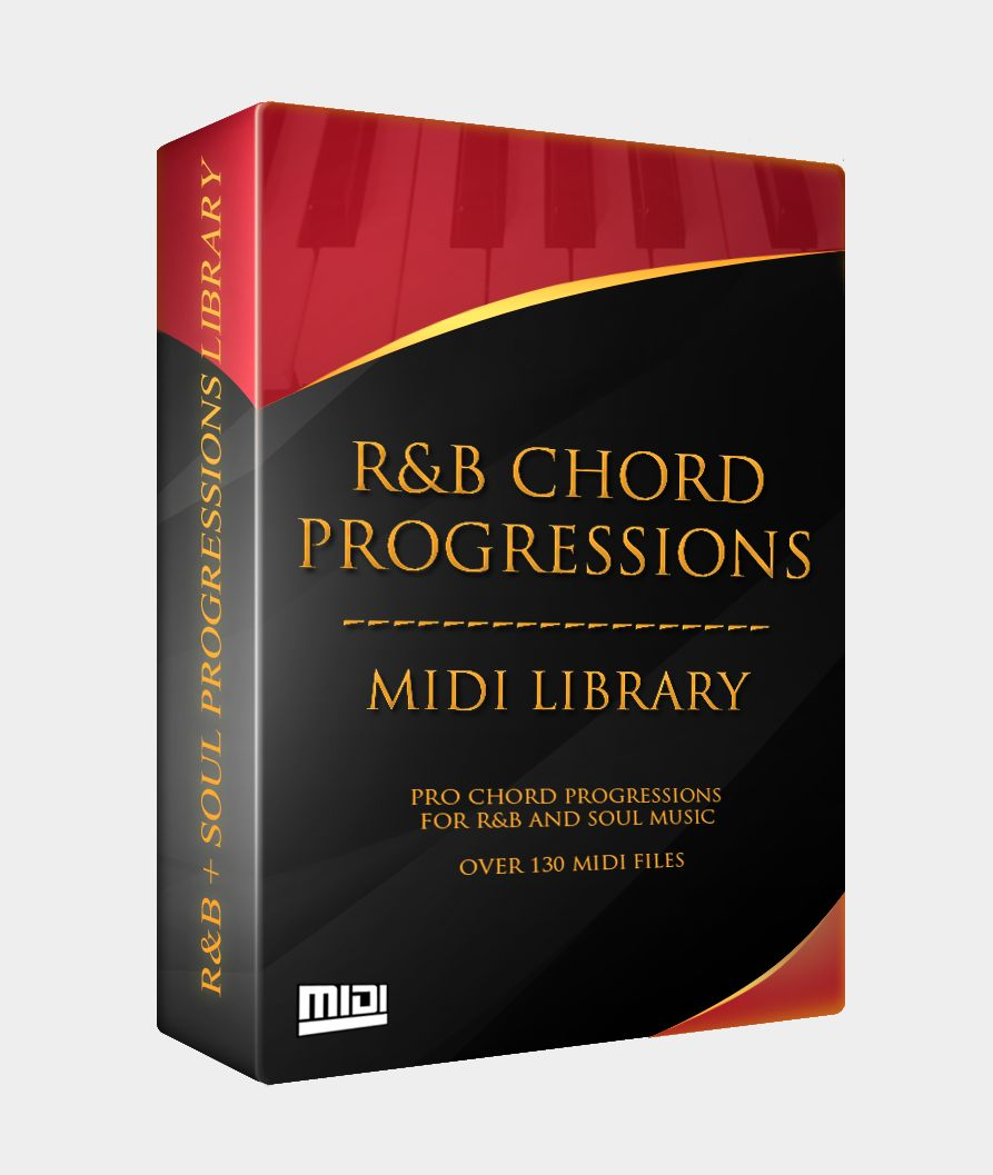 The R&B Chord Progressions MIDI Library*
