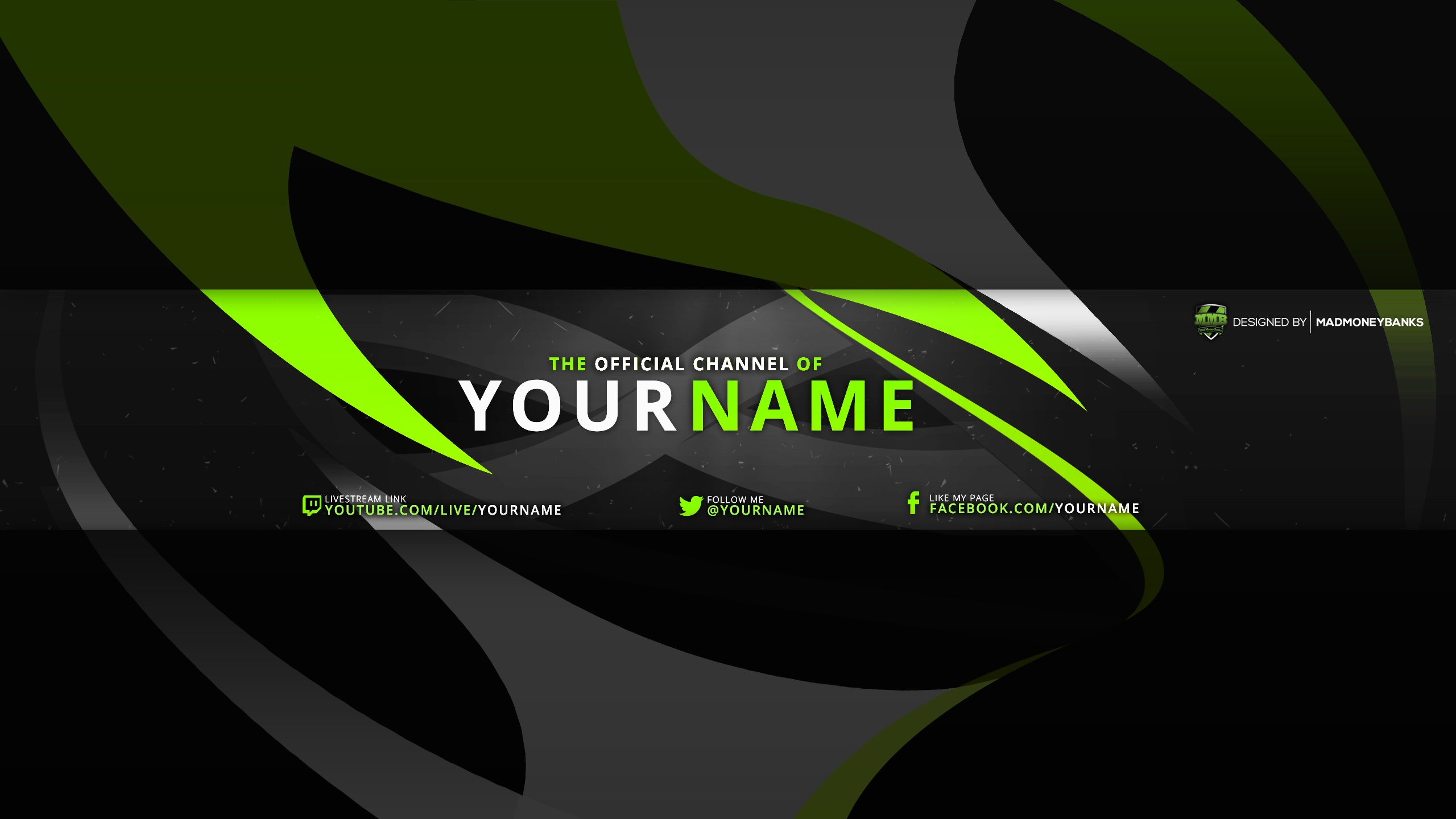 template for the new youtube one channel banner designs halfblog net