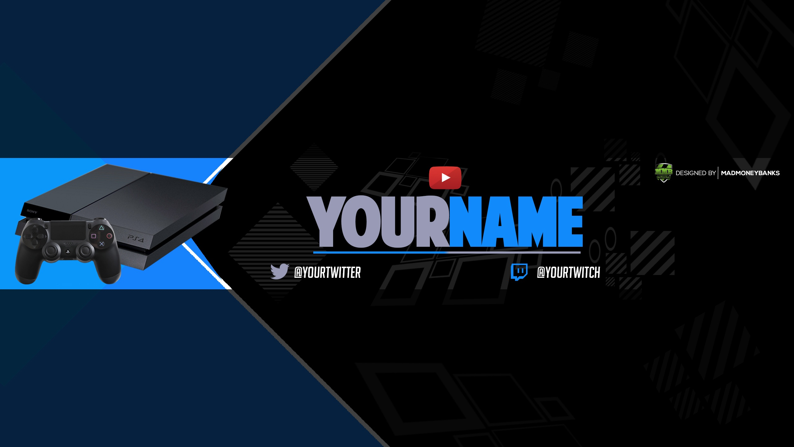 Next Gen YouTube Channel Banner Template