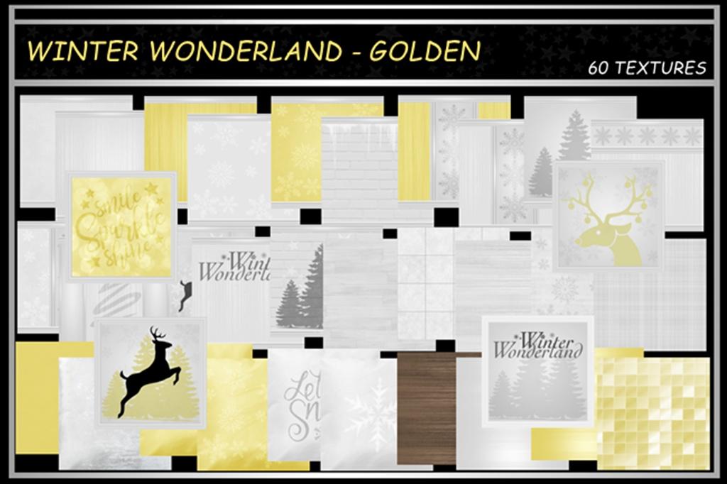 WINTER WONDERLAND ~ GOLDEN
