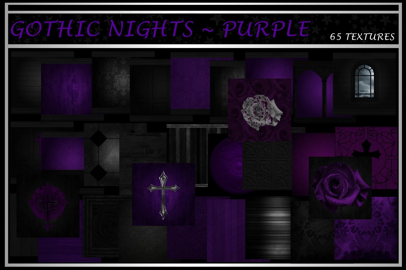 GOTHIC NIGHTS ~ PURPLE
