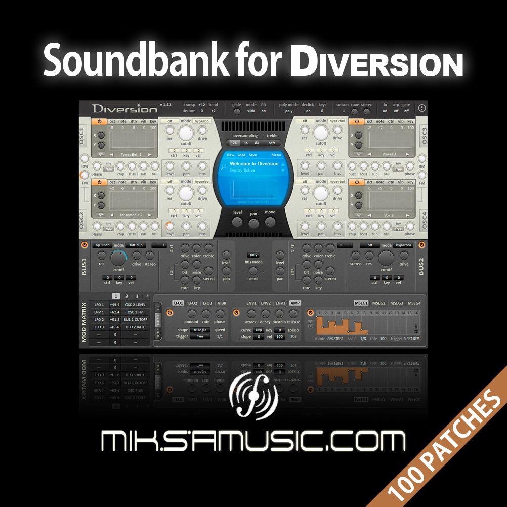 Soundbank for Diversion - miksamusic.com