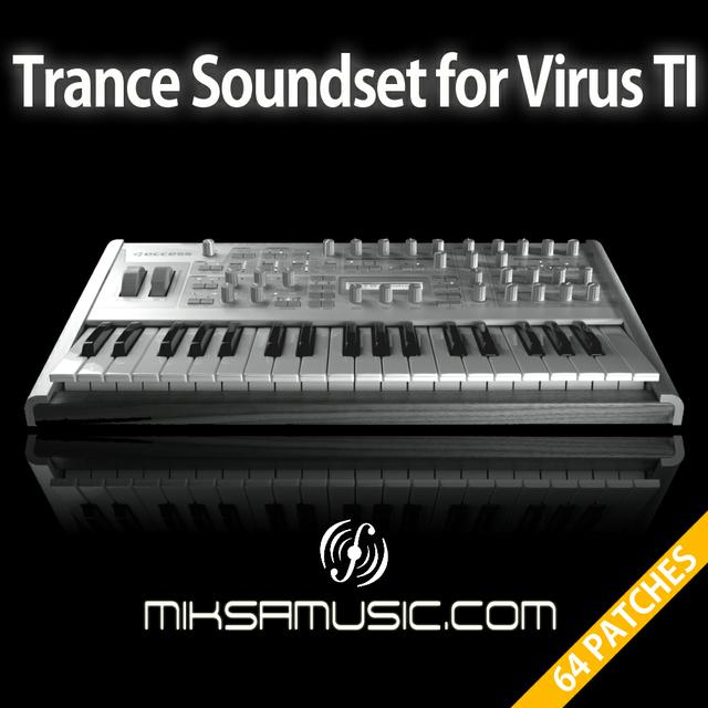 Trance Soundset for Virus TI - miksamusic.com