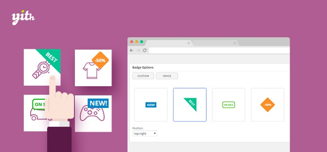 YITH WooCommerce Badge Management 1.3.3 Extension