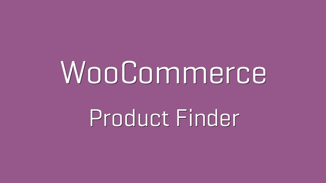 WooCommerce Product Finder 1.2.3 Extension