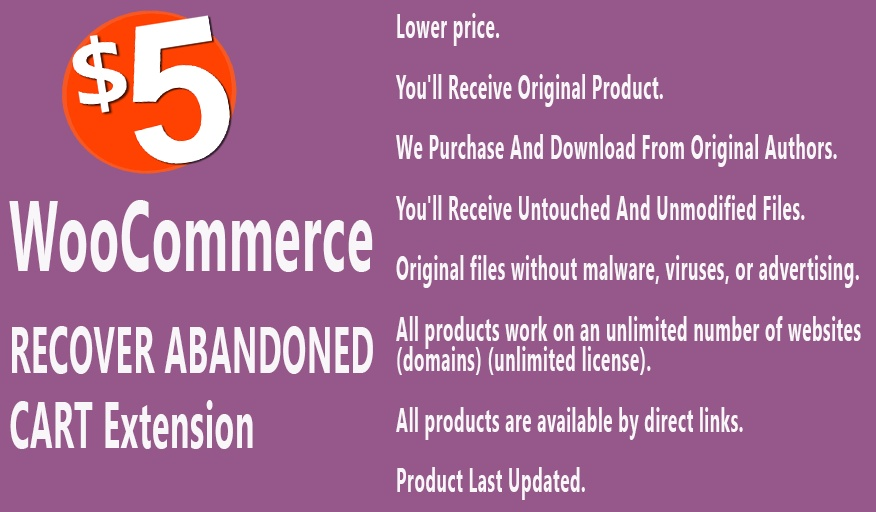 YITH WooCommerce Recover Abandoned Cart Extension