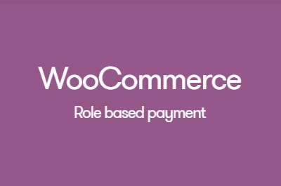 WooCommerce Role-Based Payment Shipping Methods 2.3.3 Extension