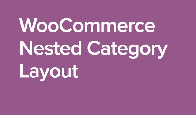 WooCommerce Nested Category Layout 1.11.0 Extension