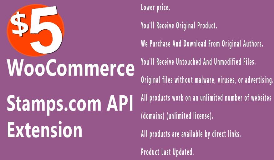 WooCommerce Stamps com API 1.3.5 Extension