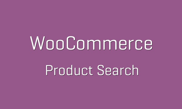 WooCommerce Product Search 1.10.3 Extension