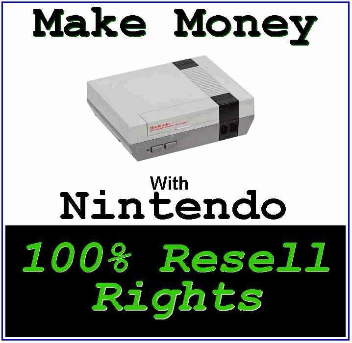 Make Money With Nintendo