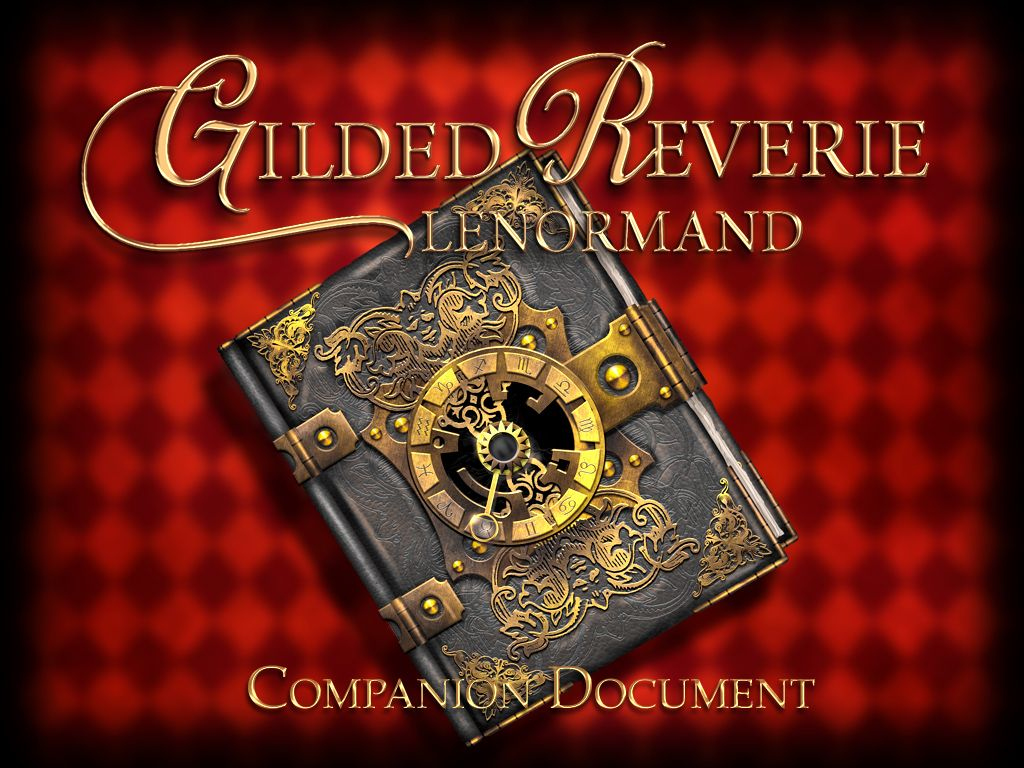 Gilded Reverie Lenormand companion PDF