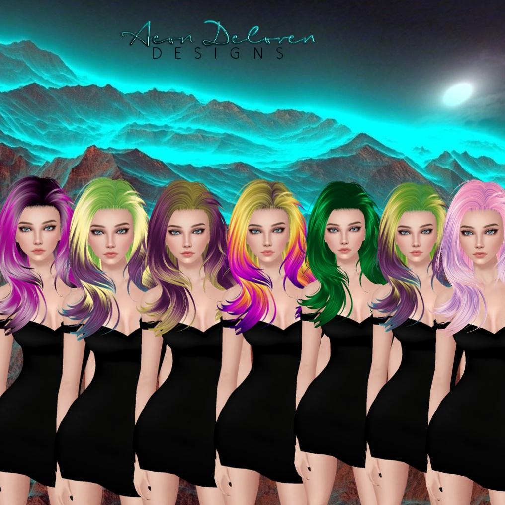 IMVU Hair Pack 13