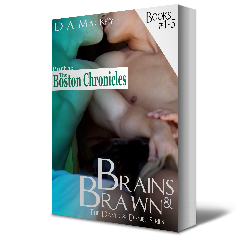 ePub Brains & Brawn: The Boston Chronicles: Books 1-5