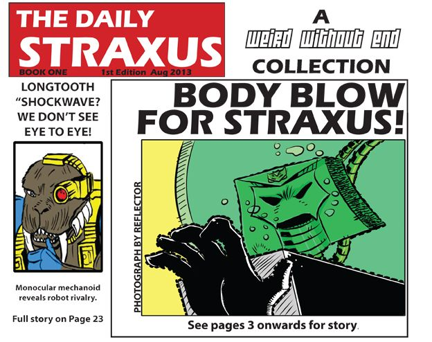 The Daily Straxus Book One