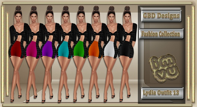 Lydia Outfit 13 CATALOG ONLY!!