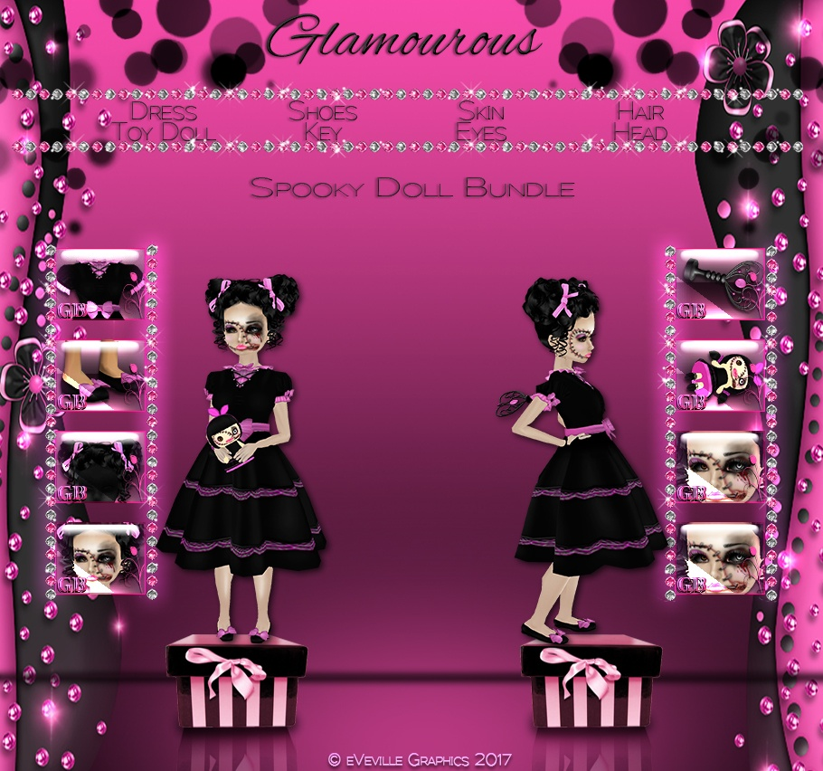 Spooky Doll Bundle ~CATALOG ONLY~