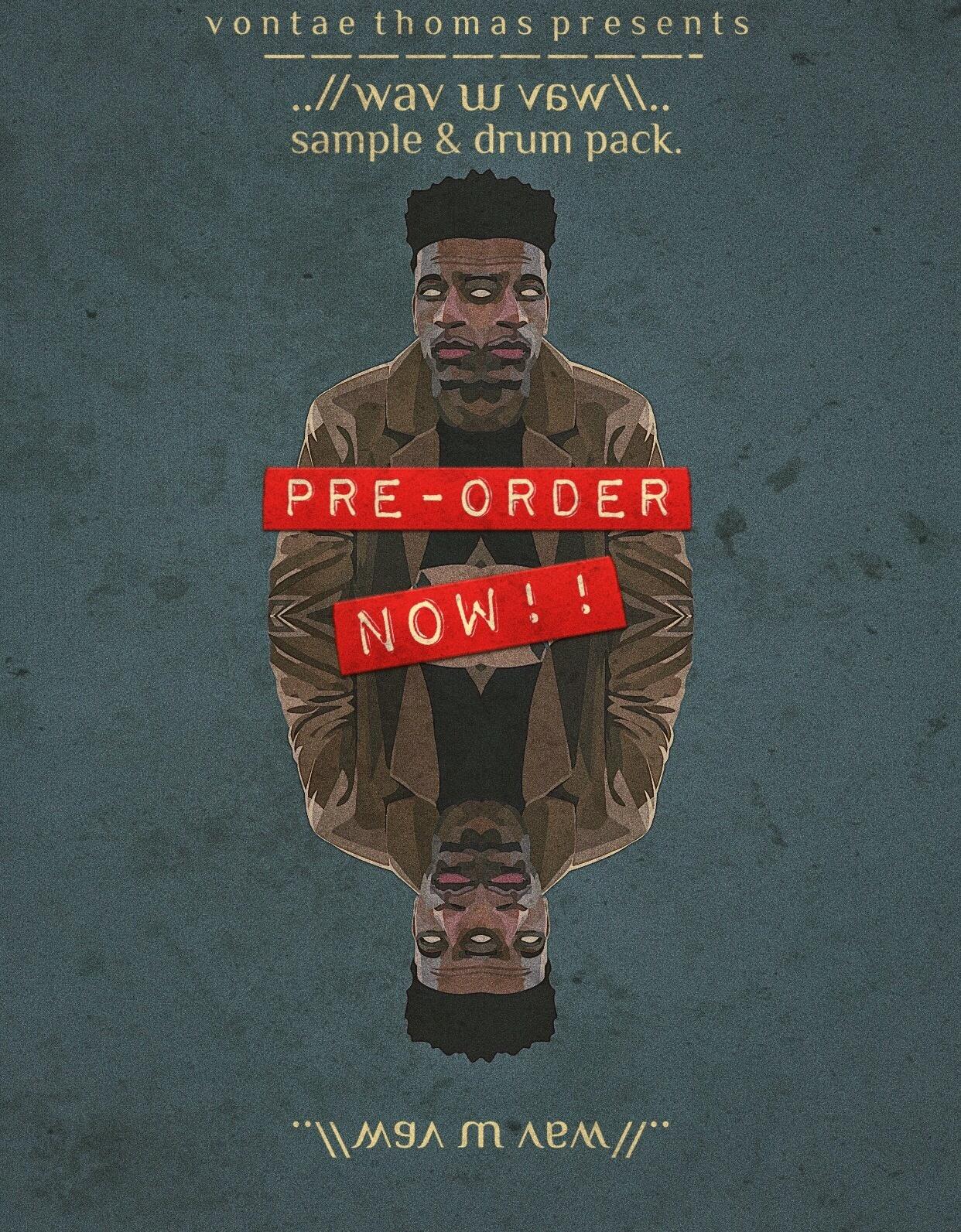 PRE ORDER ..//wav sample & drum pack
