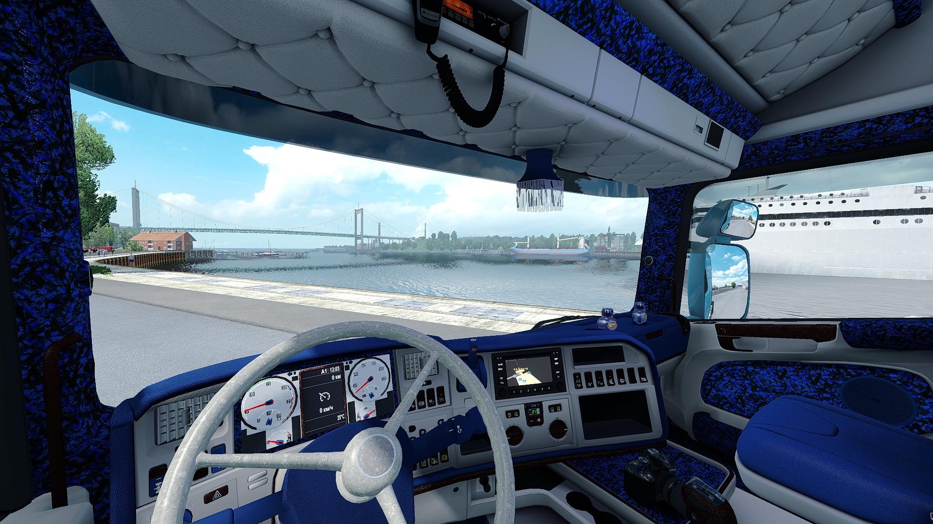 Scania RJL Custom Danish Interior ETS 2