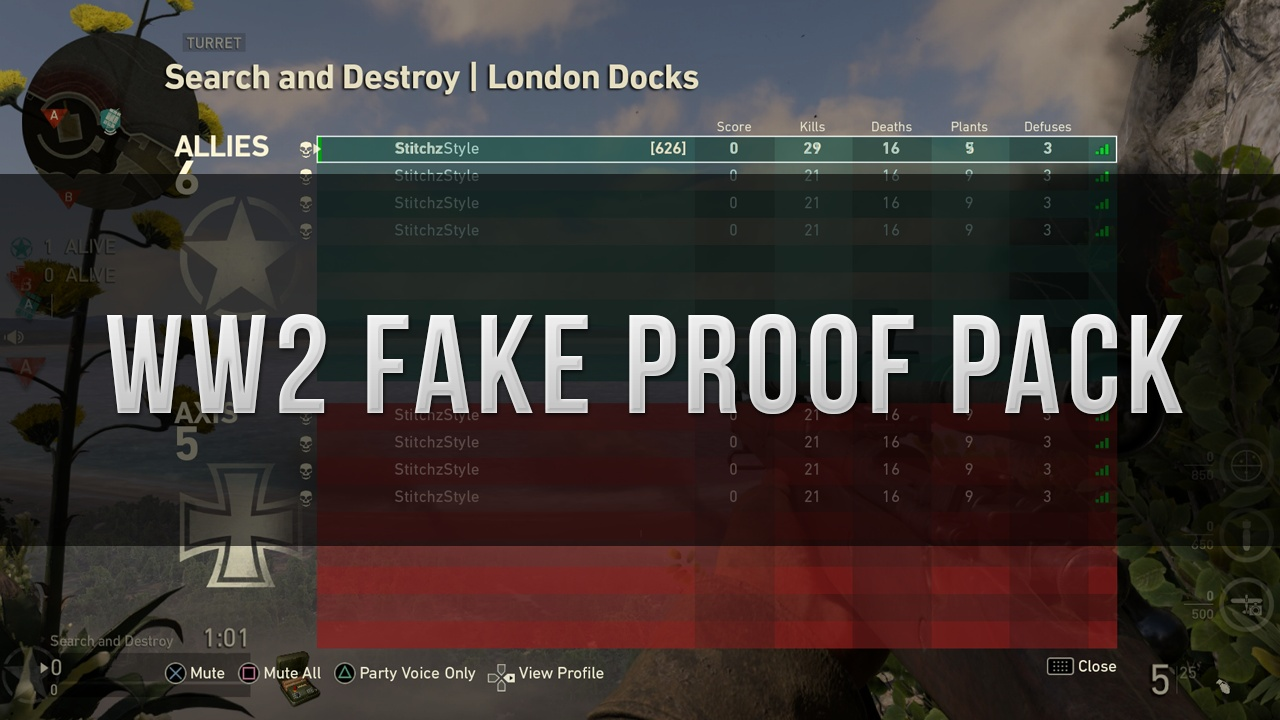 WW2 Fake Proof Pack