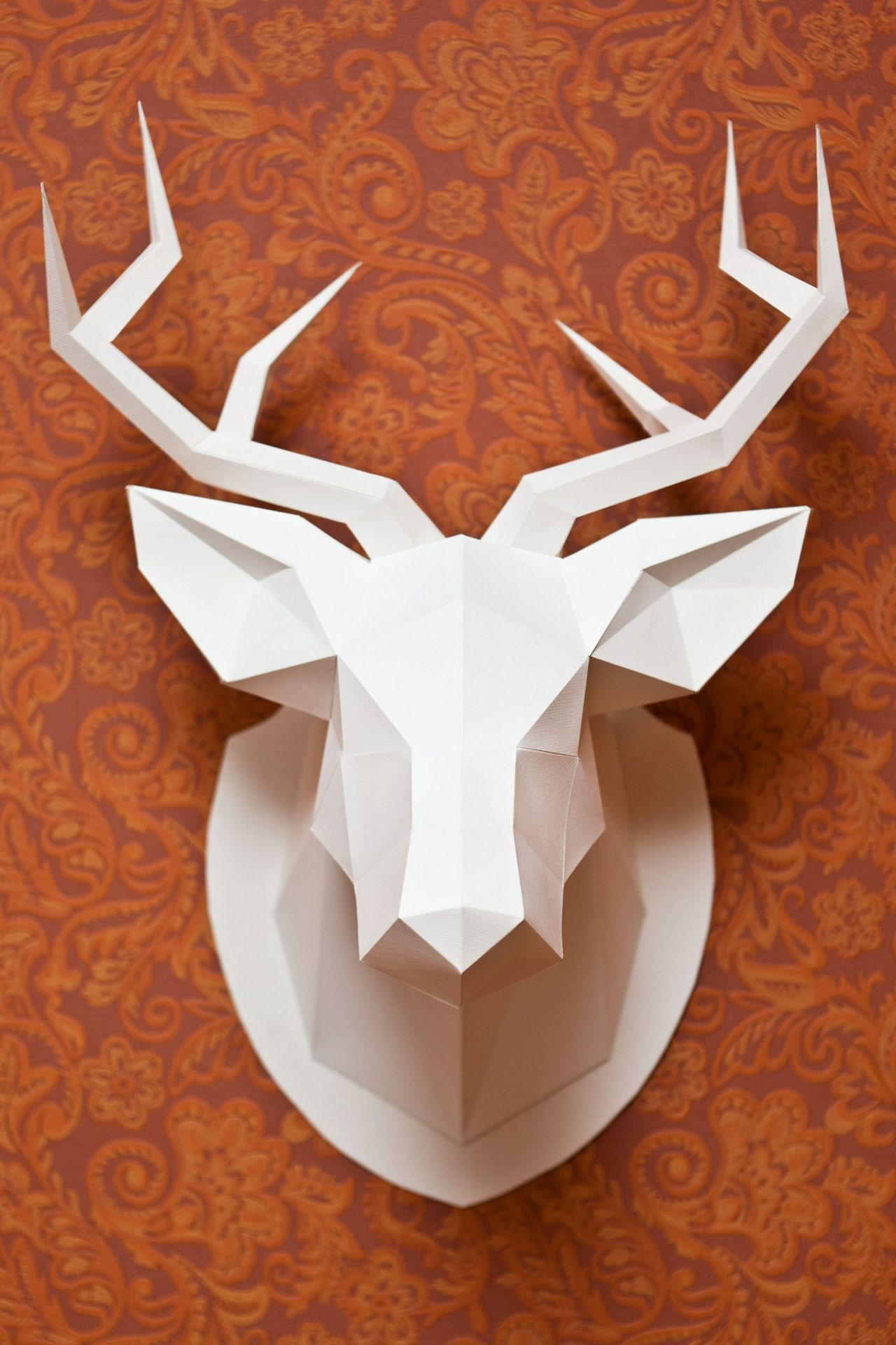 Deer Head Template (With manual on English)