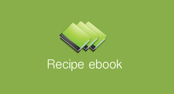 My recipe ebook