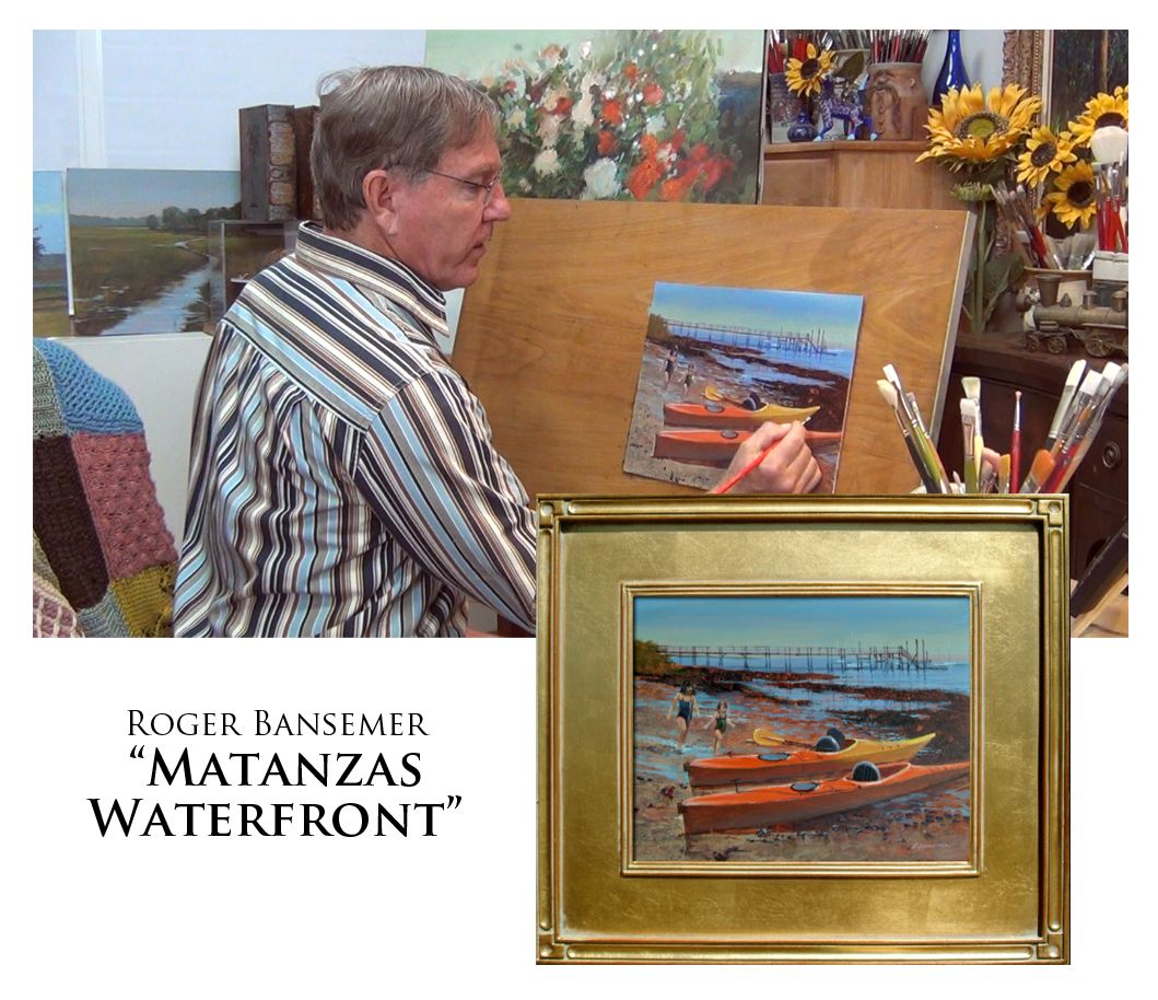 Matanzas Waterfront - Painting demonstration by Roger Bansemer