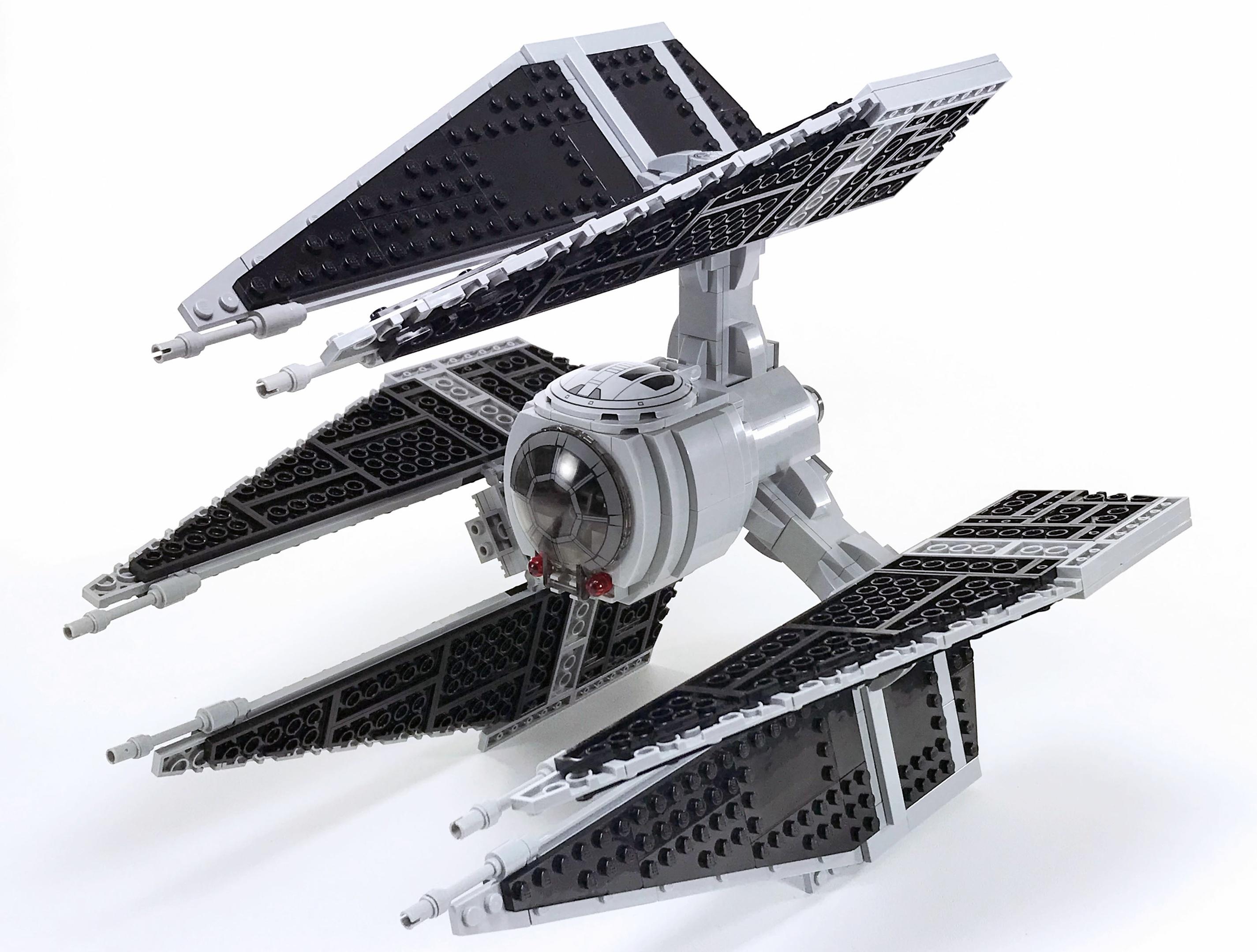 LEGO TIE Defender Instructions