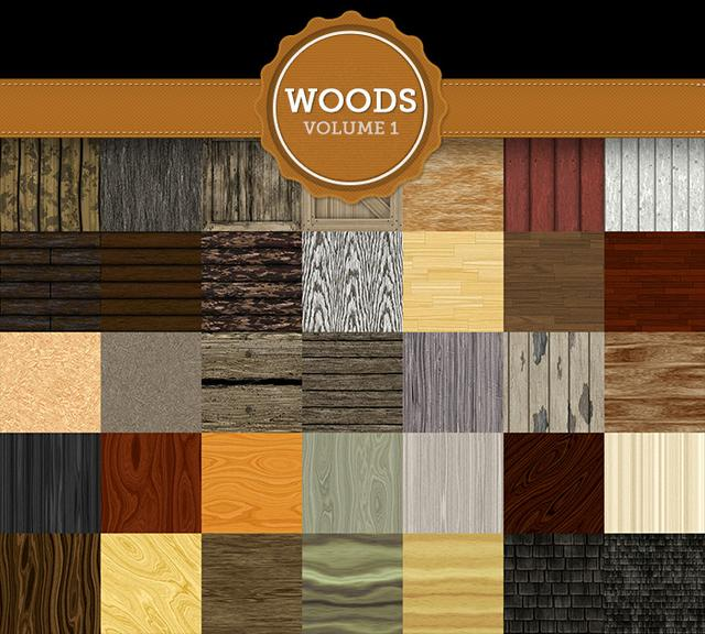 Woods Texture Pack Vol 1
