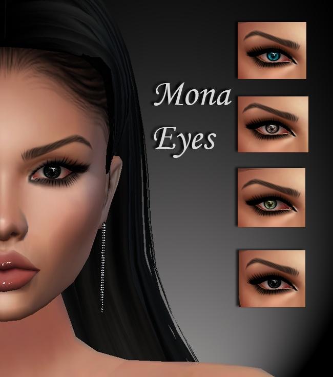 Mona Eyes & Eyebrows