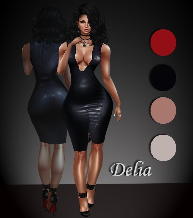 Delia Dress (4 colors)