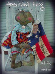 Americana Frog ePattern