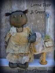 Little Peep and Sheep ePattern