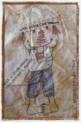 With A Cluck Cluck Here Stitchery ePattern
