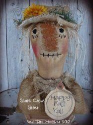 Scarecrow Shelf Sitter ePattern
