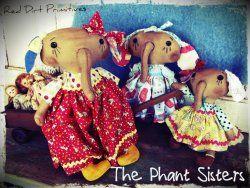 The Phant Sisters ePattern