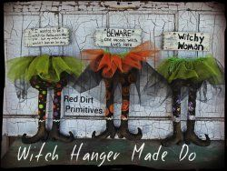 Witch Hanger Make Do ePattern