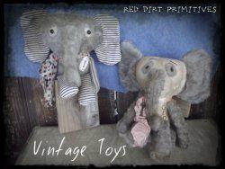 Vintage Toys ePattern