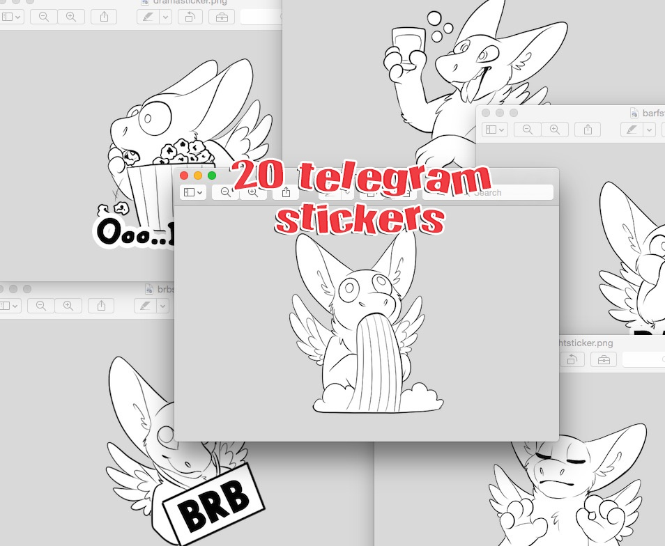 20 Telegram Stickers