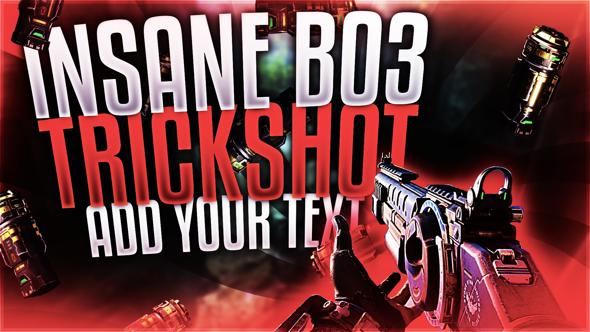 Black Ops 3 Equipment Themed Thumbnail Template v2