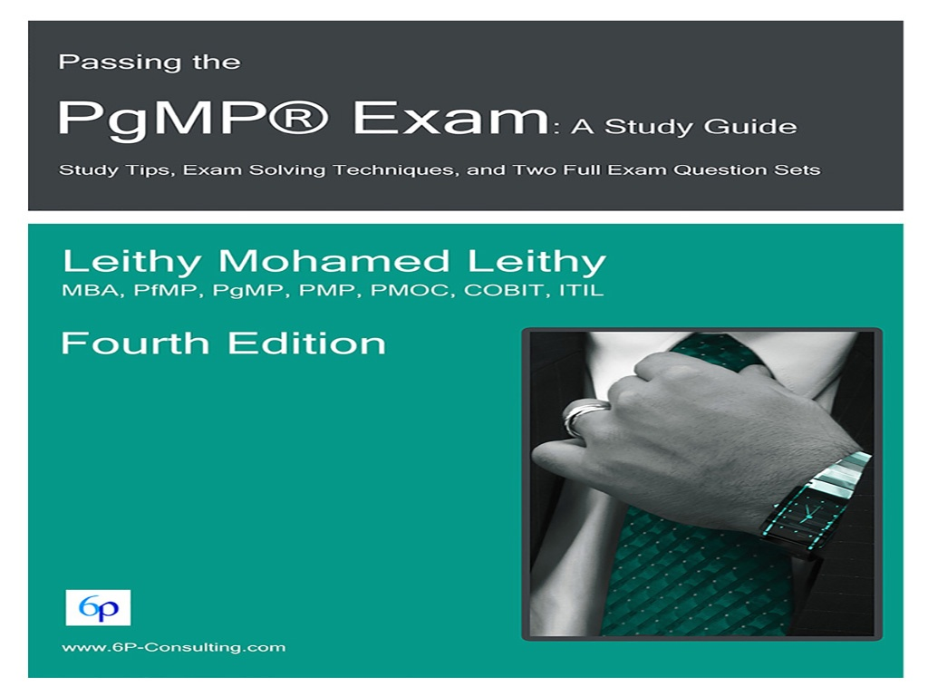 Passing the PgMP® Exam: A Study Guide (with Refund Opt)