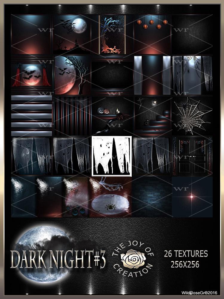 ~ DARK NIGHT #3 TEXTURE PACK ~ HALLOWEEN~