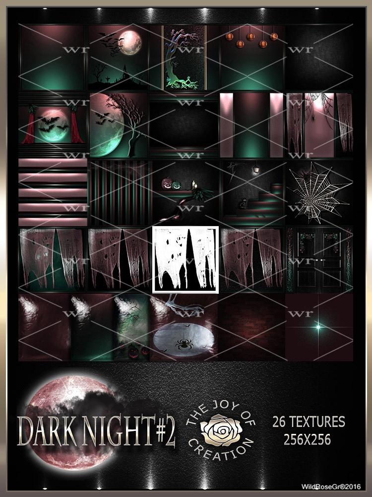 ~ DARK NIGHT #2 TEXTURE PACK ~ HALLOWEEN~