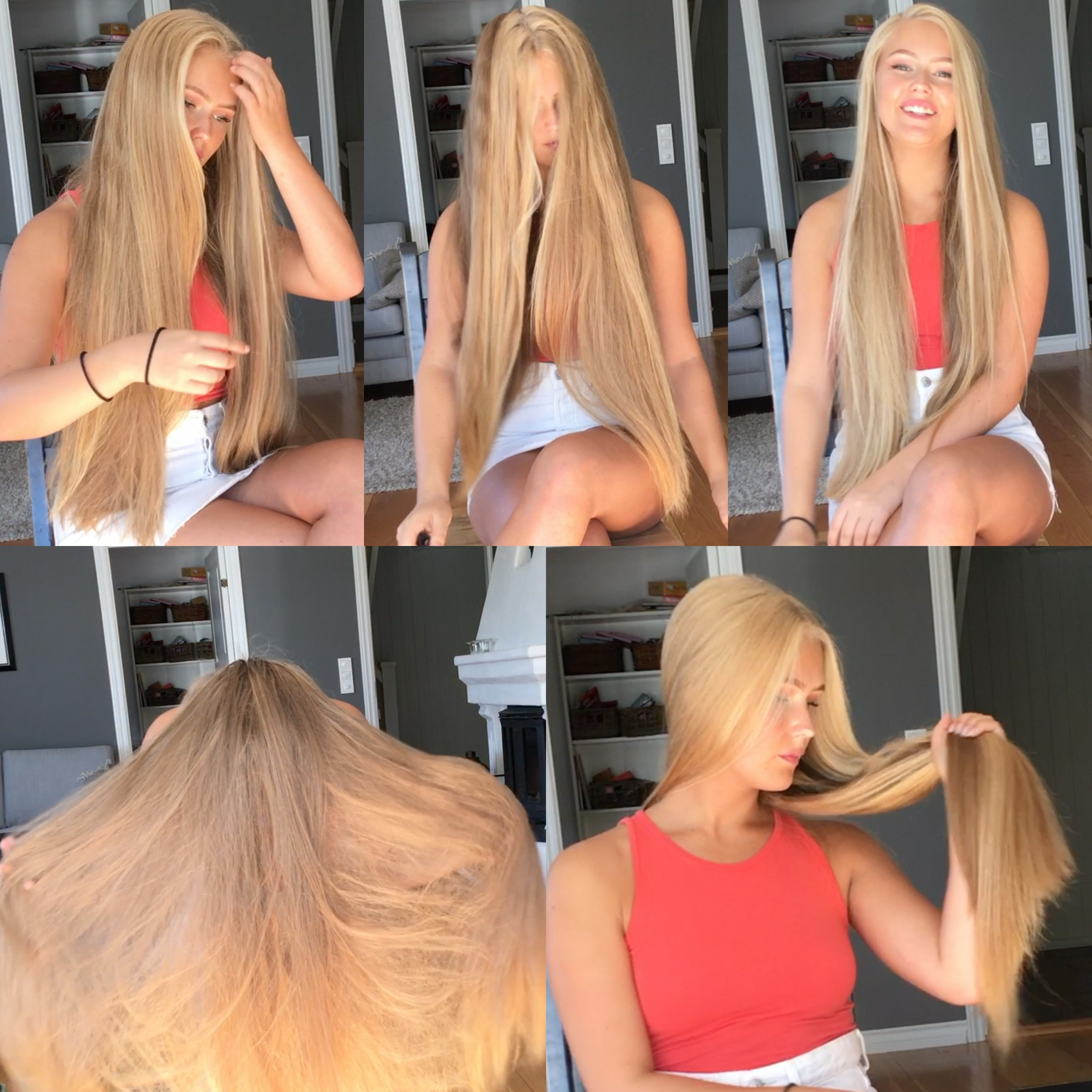 VIDEO - Top quality hair 5 - Blonde perfection