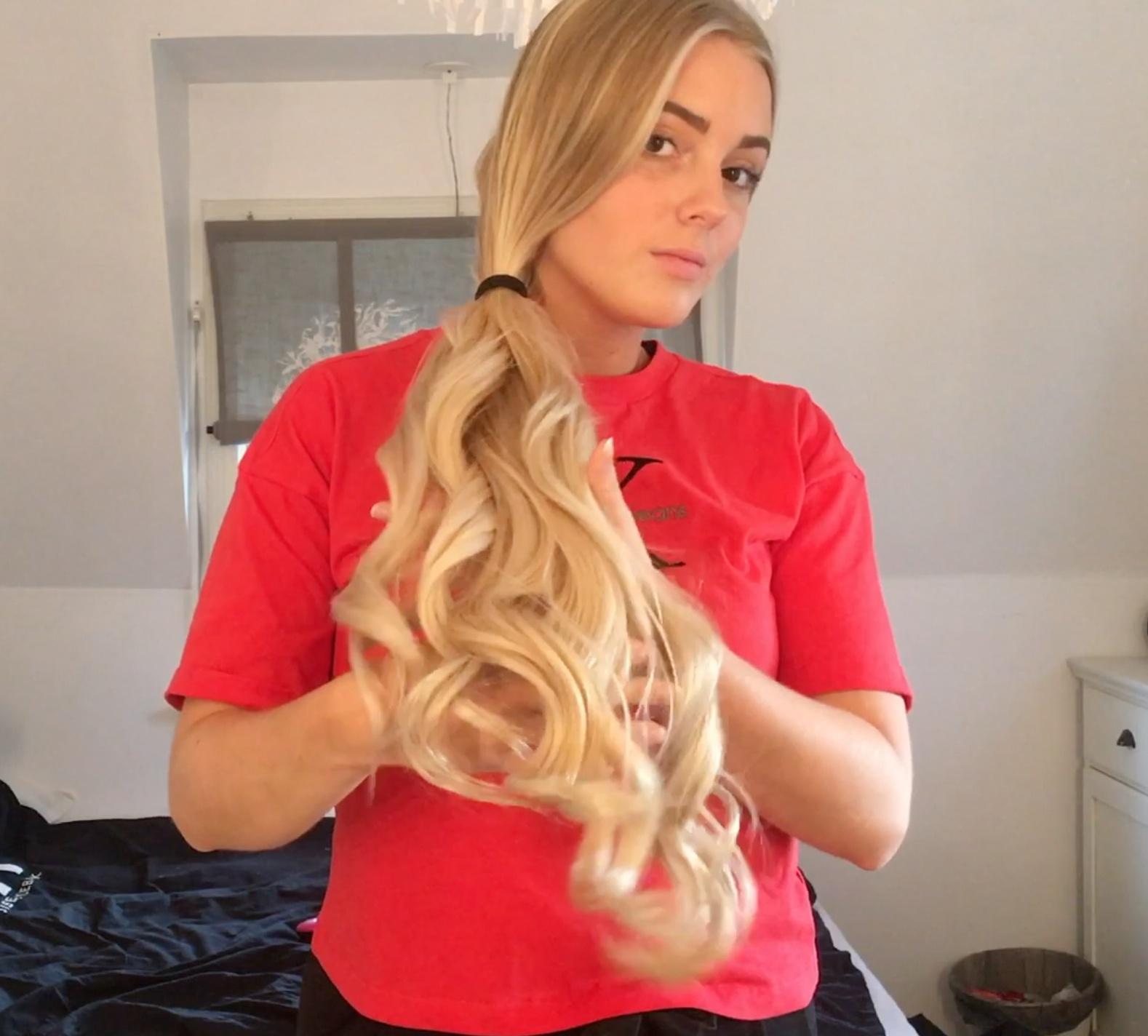VIDEO - Swedish curls
