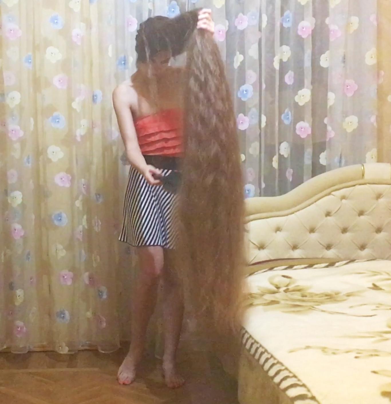 VIDEO - Massive braid release