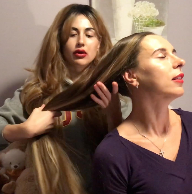 VIDEO - Long hair love