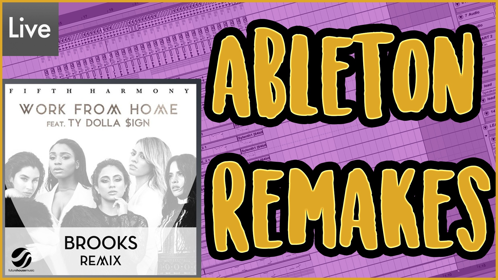 Fifth Harmony - Work from home (Brooks remix) [DOWNLOAD TEMPLATE]